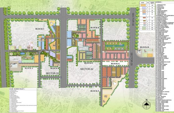 Mikasa Plots Map || Plots & Land for Sale in Mikasa Plots in Central park Gurgaon