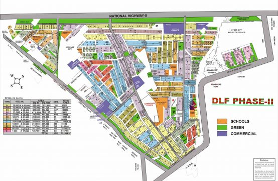 DLF Phase 2 Map || Plots & Land for Sale in DLF Phase 2 Plots Gurgaon