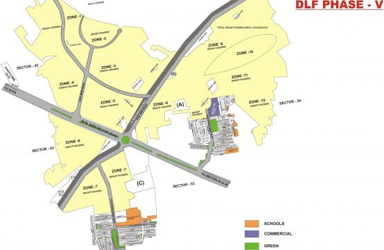 DLF Phase 5 Map || Plots & Land for Sale in DLF Phase 5 Plots Gurgaon
