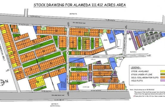 Land for Sale in DLF Alameda Sector-73 Gurgaon
