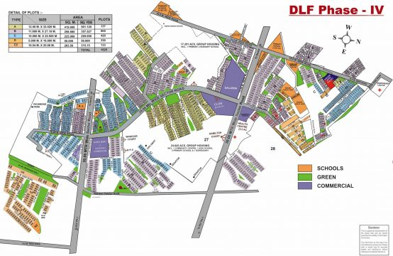 DLF Phase 4 Map || Plots & Land for Sale in DLF Phase 4 Plots Gurgaon
